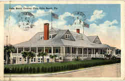 Palm Beach Country Club Postcard