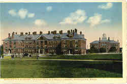 Worcester Academy, Dexter Hall & Kingsly Library