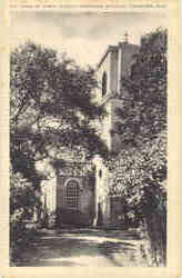 The Tower of Christ Church, Protestant Episcopal Postcard
