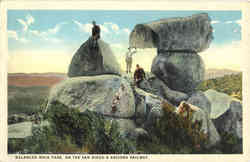 Balanced Rock Park, On The San Diego & Arizona Railway