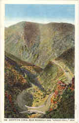 Safety-Pin Curve, Roosevelt Dam Postcard