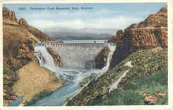 Panoramic View Roosevelt Dam