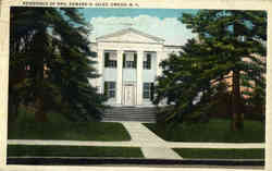 Residence Of Mrs. Edward H. Giles