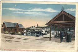 Fulton Navigation Pier, Old Forge