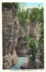Column Rock Postcard