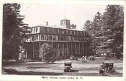 Main House, Loon Lake
