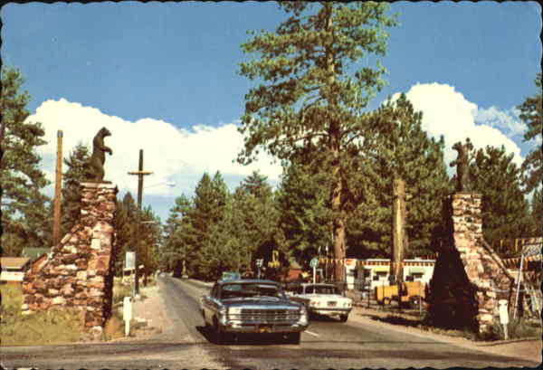 Gateway To Big Bear City California