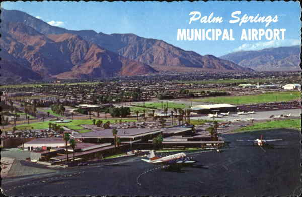 palm springs municipal airport california. Black Bedroom Furniture Sets. Home Design Ideas