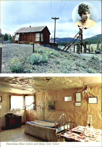 Matchless Mine Cabin And Baby Doe Tabor Leadville Co