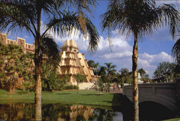 World Showcase Within The Ancient Pyramid Mexico