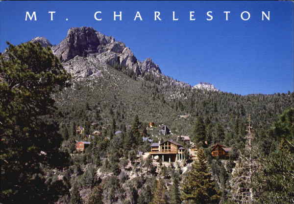 Mt. Charleston Las Vegas Nevada