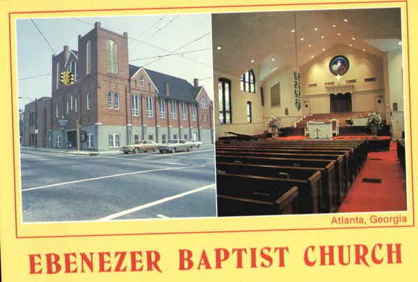 ebenezer baptist church atlanta ga