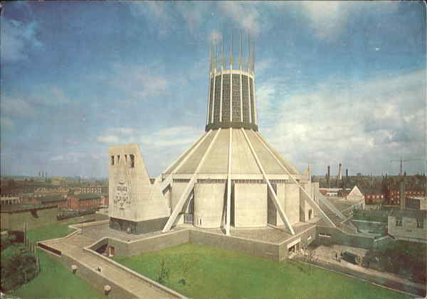 Metropolitan Cathedral Of Christ The King Liverpool England