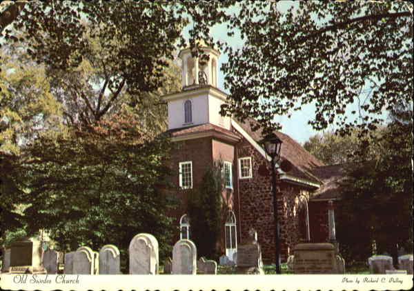Old Swedes Church Wilmington Delaware