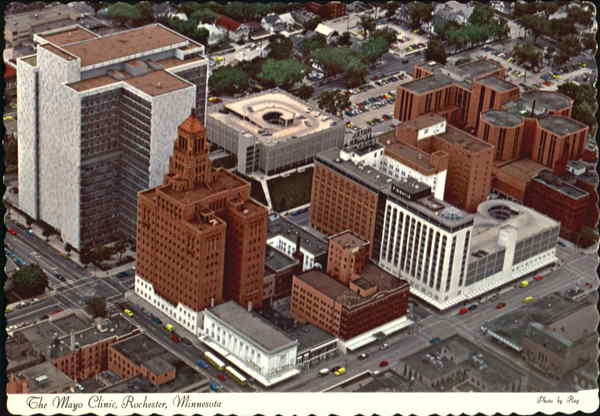 The Mayo Clinic Rochester Minnesota