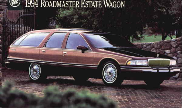 1994 Buick Roadmaster Estate Wagon Cars Modern (1970's to Present)