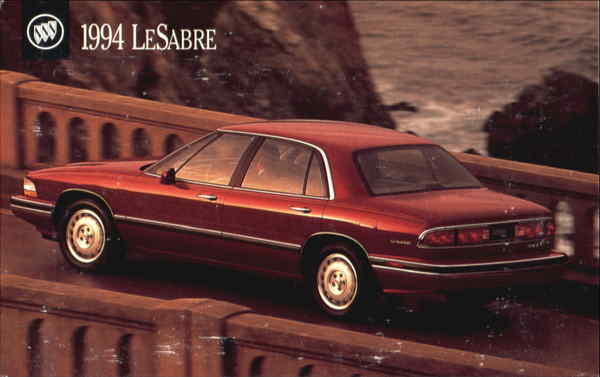 1994 Buick LeSabre Cars Modern (1970's to Present)