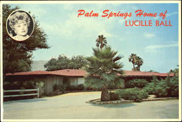 Palm Springs Home of Lucille Ball California