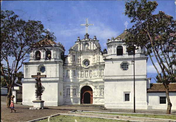 First Cathedral Of The Old City Guatemala South America