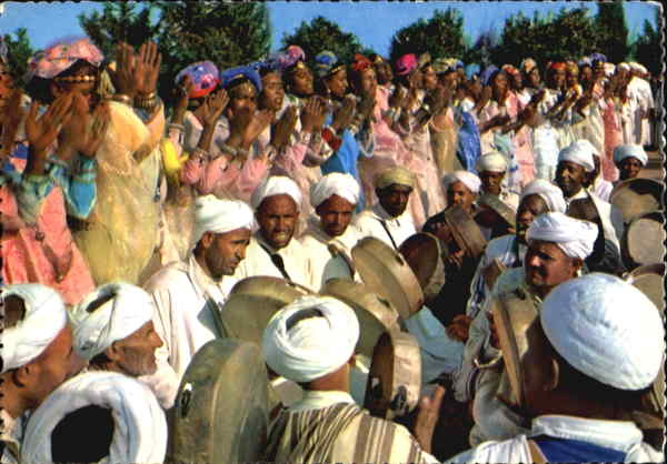 Folklore Moroco Africa