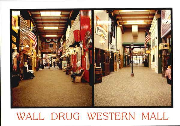 Wall Drug Western Mall South Dakota