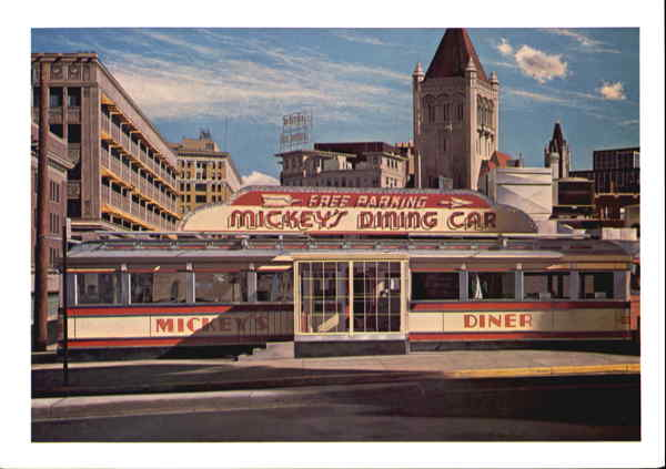 Mickey's Diner, 9th and St. Pete Streets St. Paul Minnesota