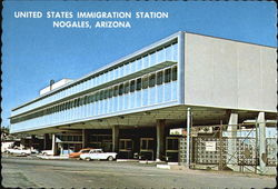United States Immigration Station Postcard