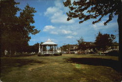 The Milford Bandstand On The Green On Broad Street