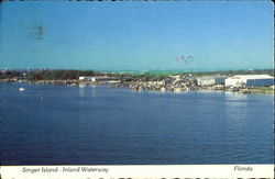Singer Island Inland Waterway Postcard