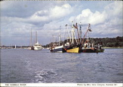 The Hamble River Postcard