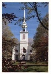 Greenfield Hill Congregational Church, 1045 Old Academy Road Postcard