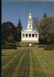 The First Congregational Church Postcard