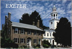 The Exeter Historical Society And The First Congregational Church
