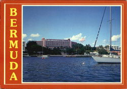 The Bermudiana Hotel And Waterfront Postcard