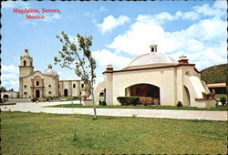 Mission Santa Maria Magdalena And Tomb of Father Kino Postcard