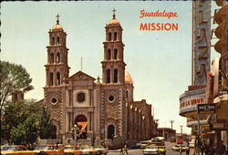 Guadalupe Mission Postcard