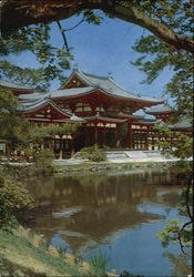 Temple of Uji Kyoto Postcard