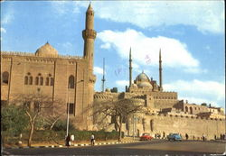Cairo The Mohamed Aly Mosque Postcard