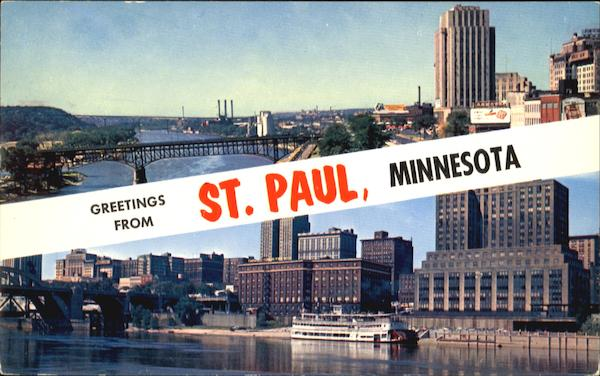 Greetings From St. Paul Minnesota