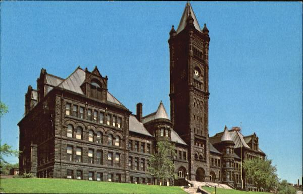 Central High School, Lake Avenue And Second Street Duluth Minnesota