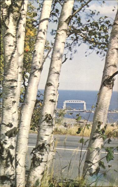 Famous Aerial Lift Bridge Duluth Minnesota