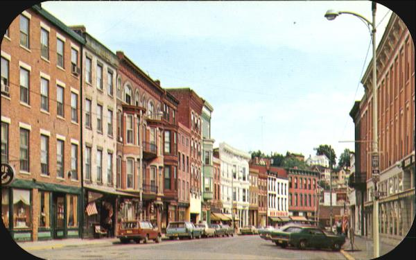 Main Street Looking North Galena Illinois