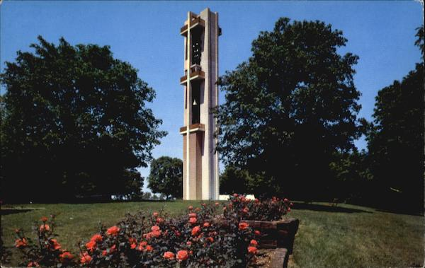 Thomas Rees Memorial Carillon, Washington Park Springfield Illinois