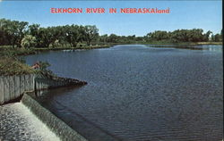 Elkhorn River In Nebraska Land