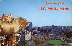 Skyline View Of St. Paul