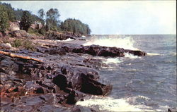 Rock Shore Of Lake Superior, North Shore Drive