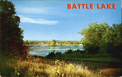 Battle Lake Postcard