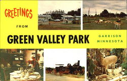 Greetings From Green Valley Park Postcard