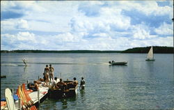Water Activities On Long Lake, Hamilton Lodge