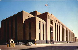 Post Office Building Postcard